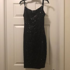 Sequence dress size small